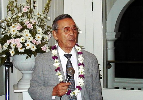 1999 photo of Takio Murakami. He passed away in 2013 at the age of 92.
