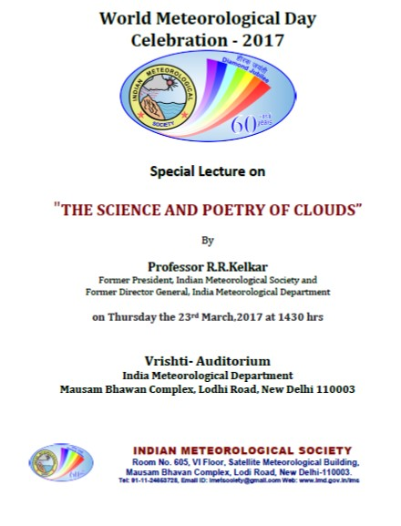 IMS Lecture Announcement